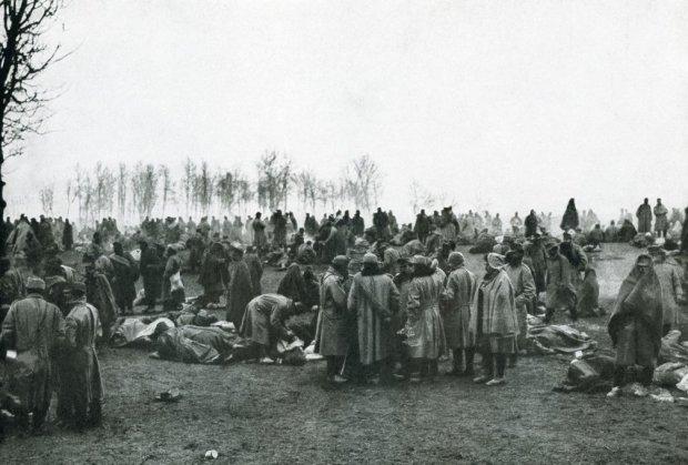 Логор српске војске.