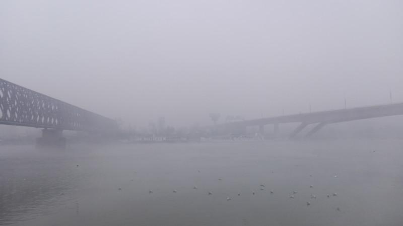 Поглед на Нови Београд.