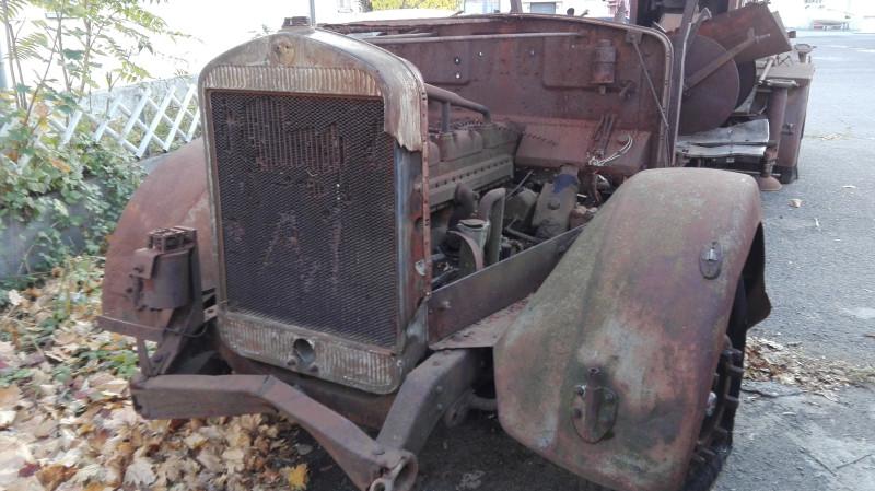 Неодстаје већи део предњег дела камиона. Идентификација је немогућа.