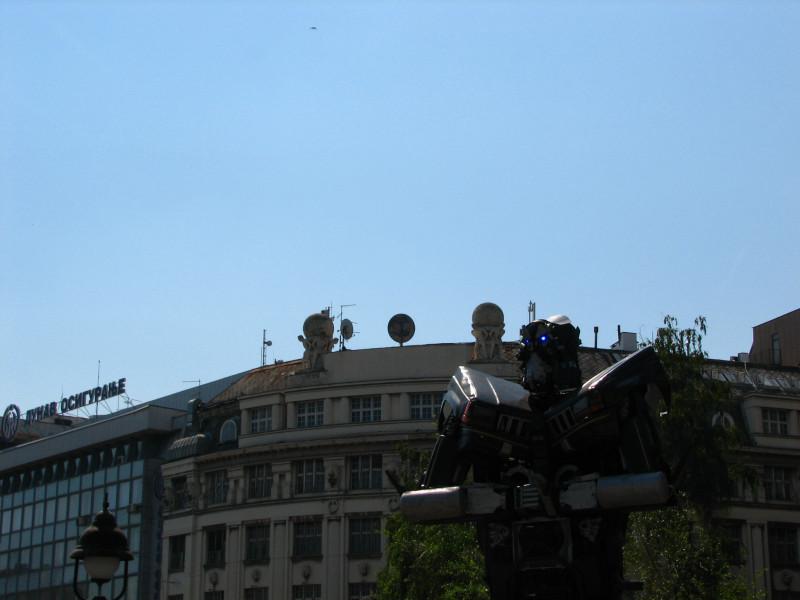 Робот на Тргу Републике.