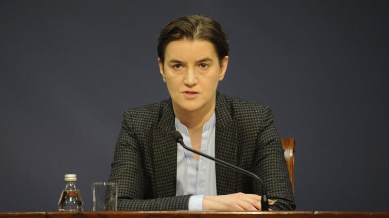 Премијерка Ана Брнабић