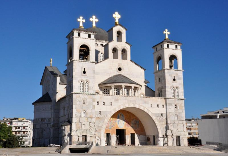 Саборна црква Христовог Васкрсења, Подгорица.