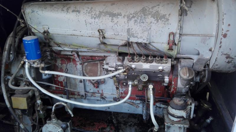Леви мотор брода, мноооогггоооо коњских снага да покрене 200 тона железа.