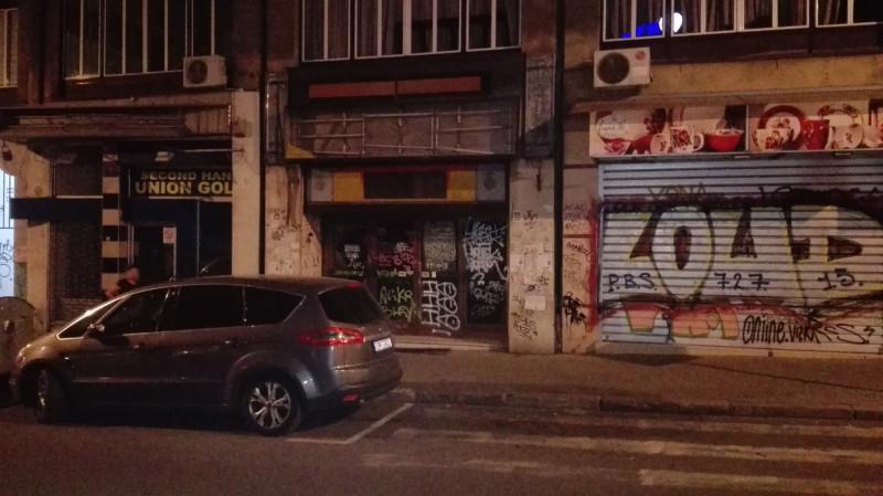 Балканска. Затворени биоскоп 20.октобар, седамдесетих година место хрватског терористичког напада.