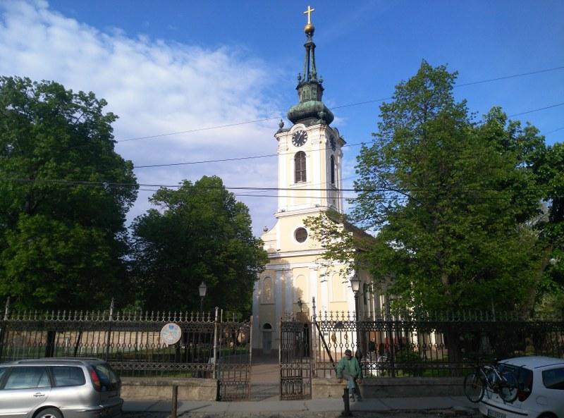 Слика је позајмљена са ЗР-Клика, ја нисам успео да направим пристојну фотографију цркве.