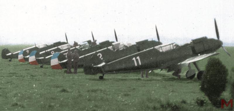 Месершмит Bf-109E