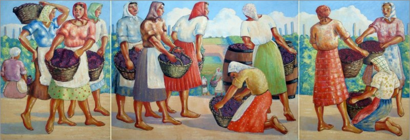 Триптих; Берачице - 1942.