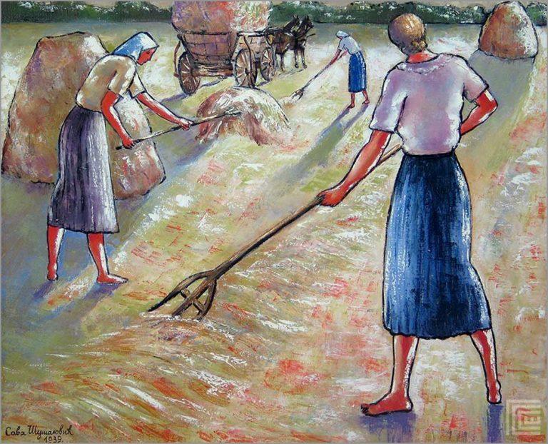 Сакупљање сена - 1939