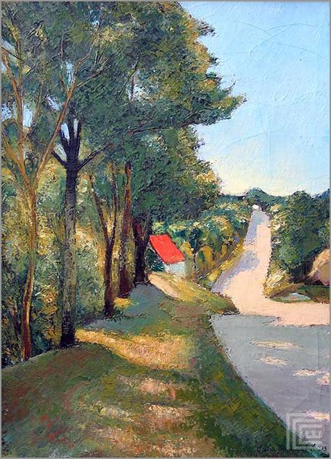 Пејзаж - 1933.