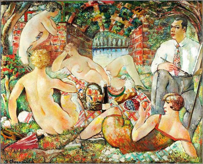 Доручак на трави - 1927.