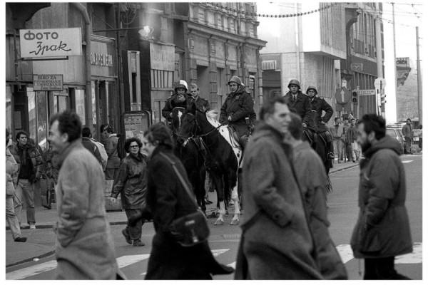 Три дня в марте 1991 года. Югославия
