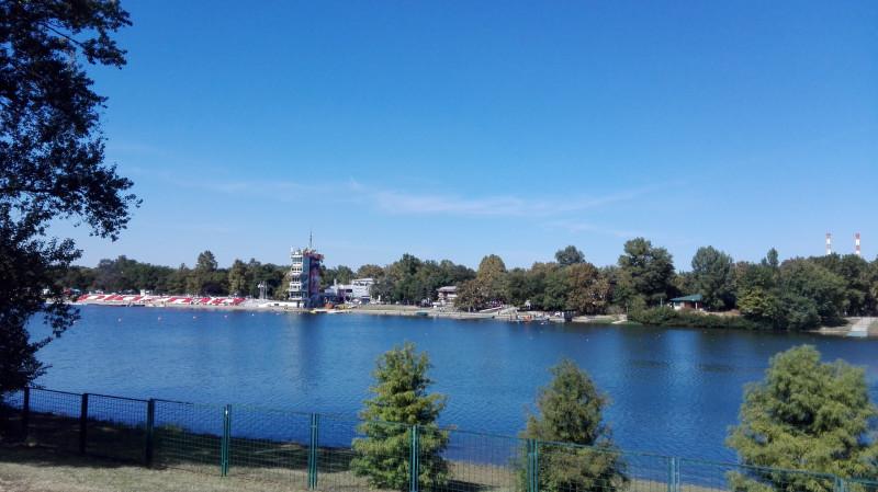Савско језеро. Место свих спортских дешавања на отвореном.
