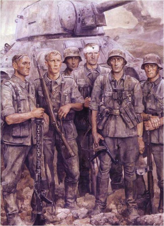 """""""Бойцы на востоке"""" 1944"""