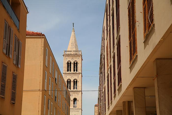 Колокольня Кафедрального собора Святой Анастасии (Katedrala Sv.Stosije)