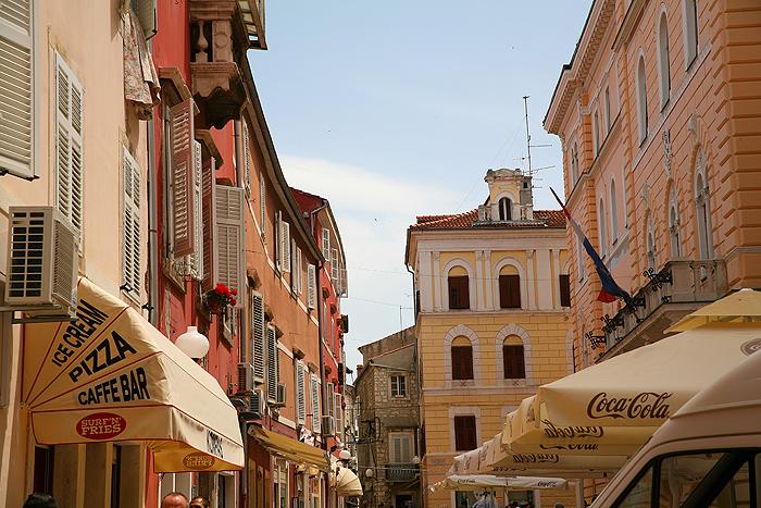 Улицы города Задар