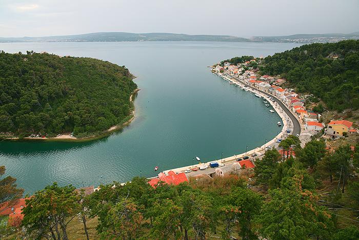Город Новиград в Центральной Далмации