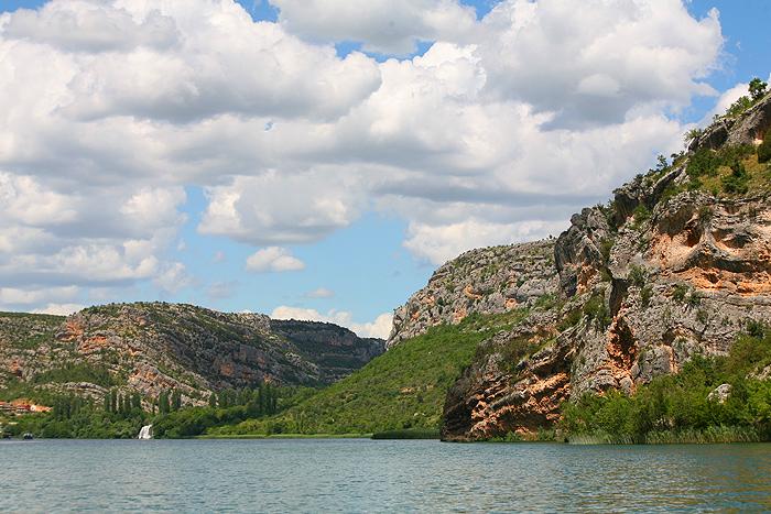 Висовацкое озеро в парке Крка