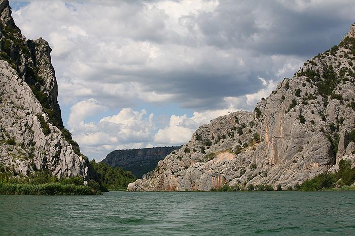 Теплоходный маршрут на реке Крка