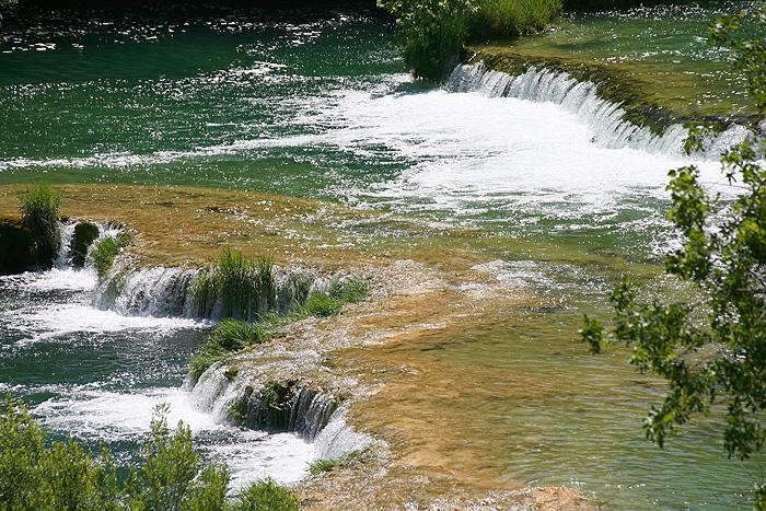 Пороги водопада Skradinski buk