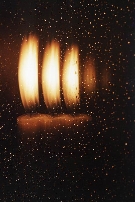 Фото-хокку про свечу