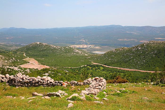 Вид на окрестности с Туловой Гряды