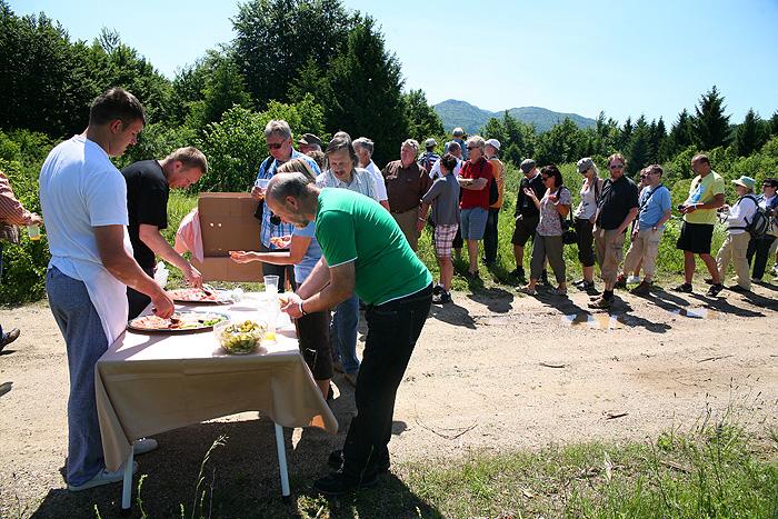 Завтрак на траве в Prijeboj