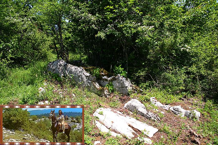 Место съемок «Сокровища Серебряного озера»