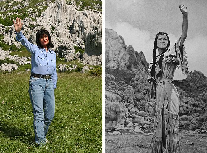Мари Версини-2013 и ее Ншо-Чи-1963
