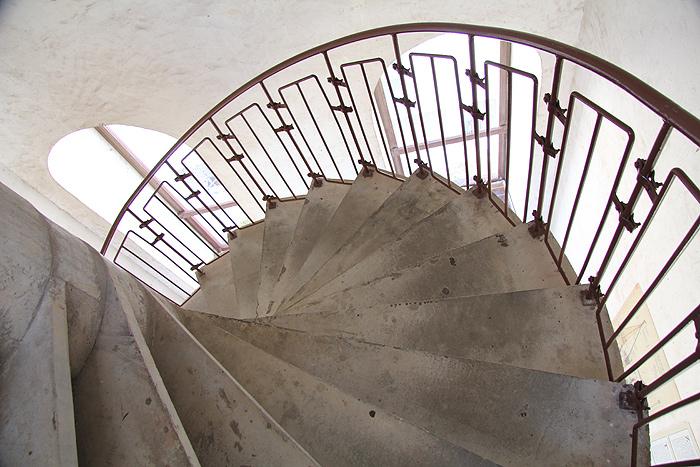 Лестница на колокольню Кафедрального собора Св. Анастасии
