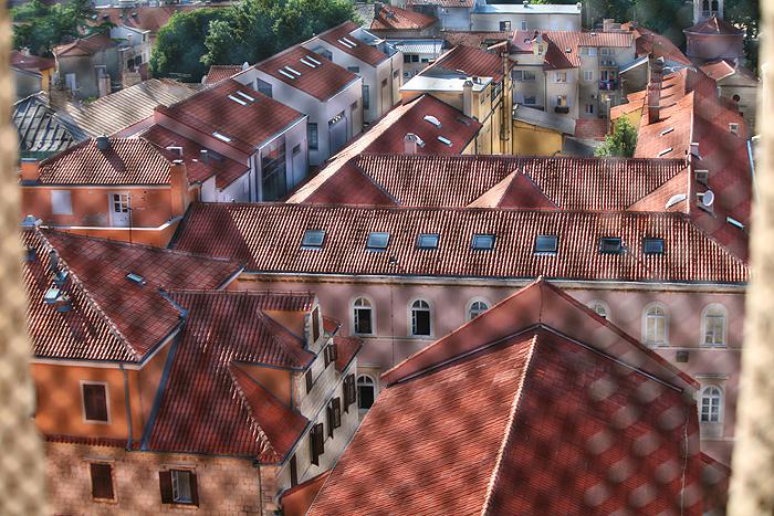 Вид на город с колокольни Св. Анастасии