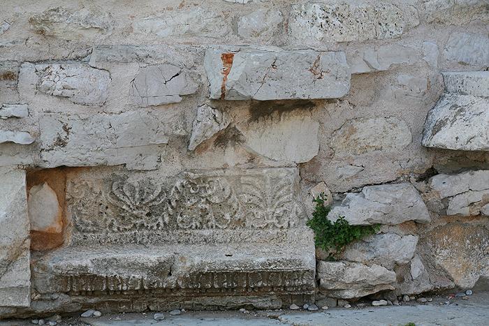 Фундамент церкви Св. Доната