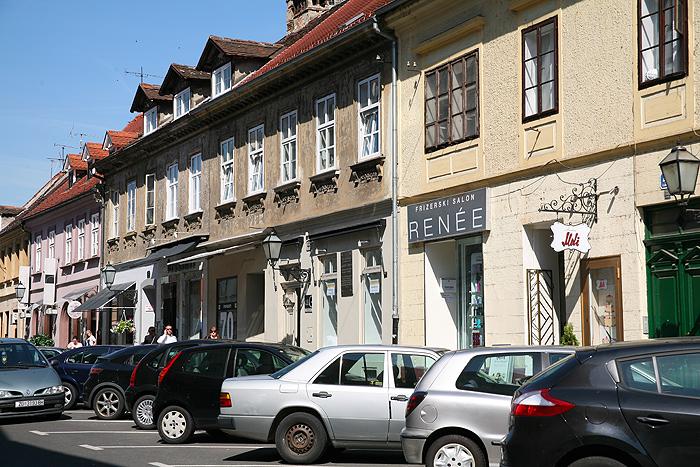 Улицы Нижнего города Загреба