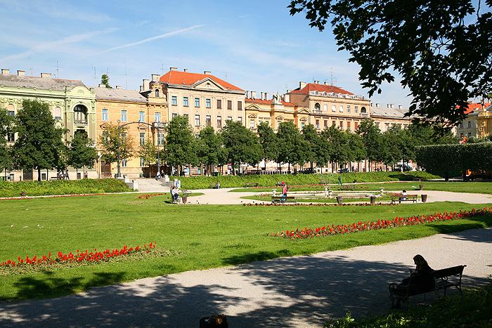 Сквер Загреба