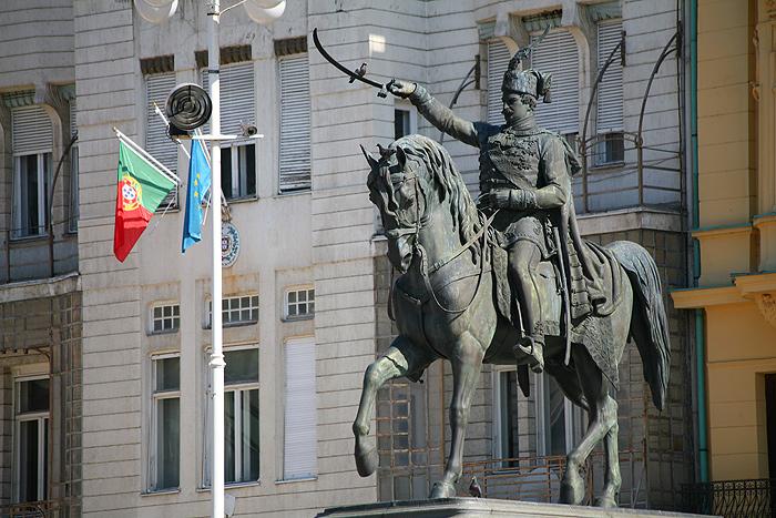 На площади бана Йосипа Елачича
