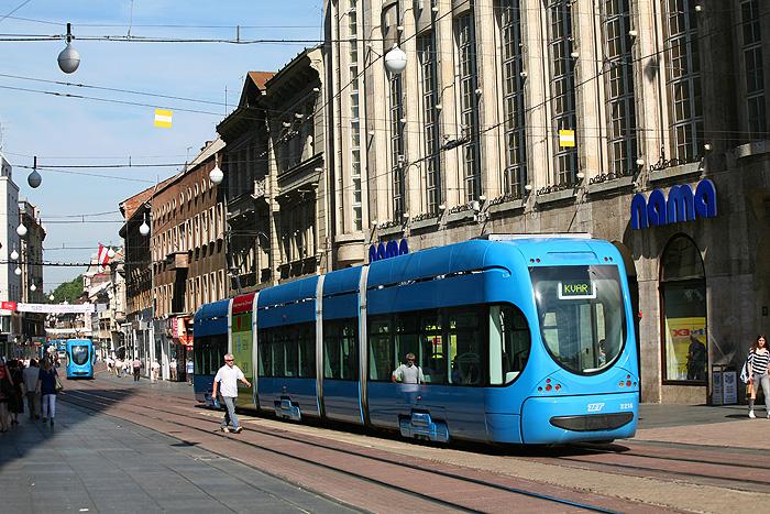 Центральная улица Загреба - Илица