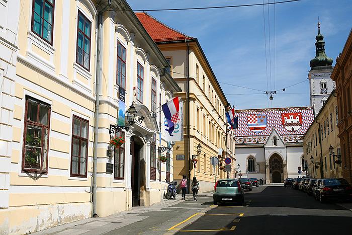 Улица к церкви Св. Марка в Верхнем городе