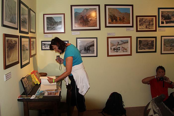 Экспозиция Музея Виннету