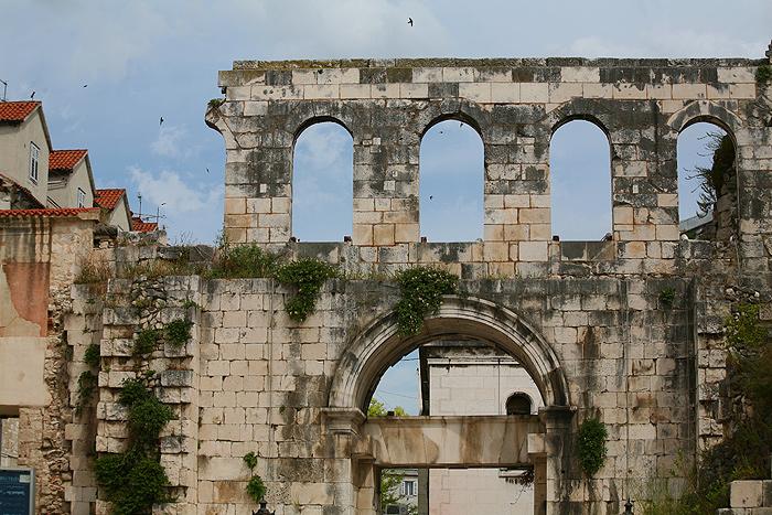 Серебряные ворота дворца Диоклетиана