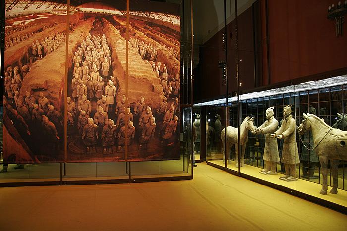 Центральная экспозиция выставки в Историческом музее