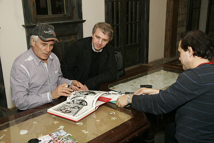 Интервью с Гойко Митичем на «Типифесте-2013»