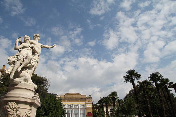 Город Опатия в Истрии