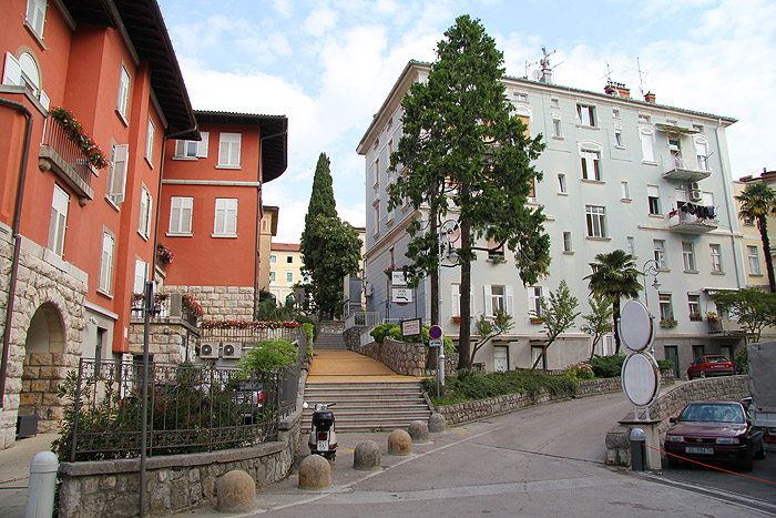 Улицы Опатии