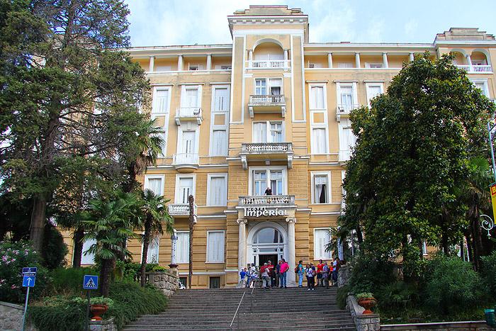 Отель «Империал» в Опатии