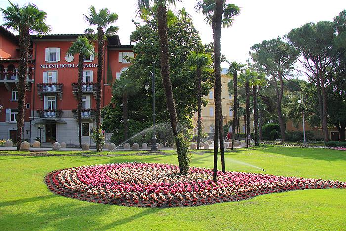 Сады и парки Опатии