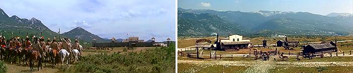 Форт Ниобара и ранчо Баумана на Гробничко полье