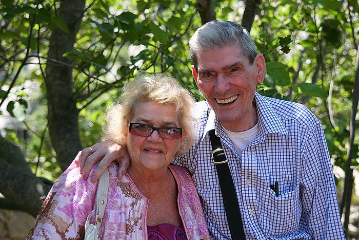 Мирко Боман с супругой