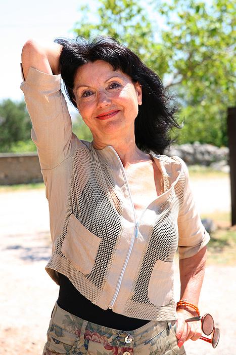 Хорватская актриса Гордана Цейтц-Чеко