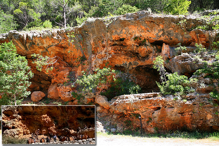 «Красные скалы» №2, место съемок сцены из «Среди коршунов»