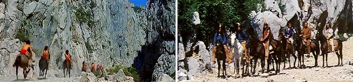 «Сокровище Серебряного озера» и «Виннету и Олд Шеттерхэнд в Долине мертвых»