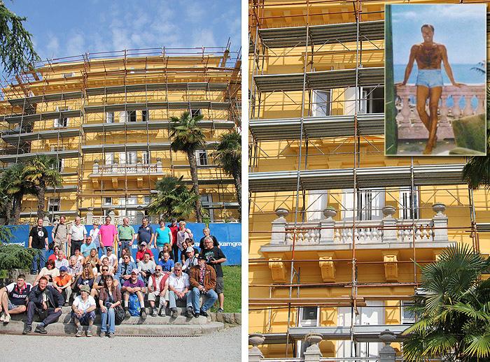 Вилла «Амалия» с балконом Лекса Баркера